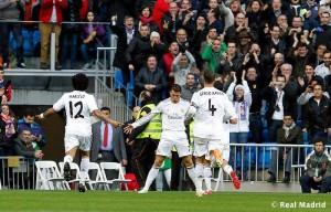 Aplauze suporteri gol Cristiano Ronaldo