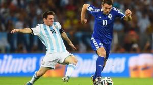 Lionel Messi Argentina Bosnia