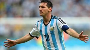 Leo Messi Argentina-Nigeria