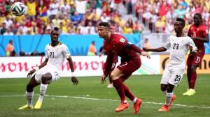 Ronaldo Portugalia-Ghana