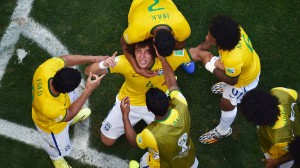 David Luiz Brazilia-Chile