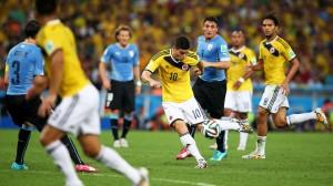 Gol James Rodriguez Columbia-Uruguay
