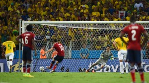 Gol James Brazilia-Columbia