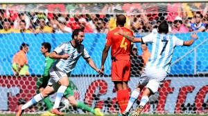 Higuain Argentina-Belgia