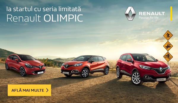 Seria limitată Renault Olimpic
