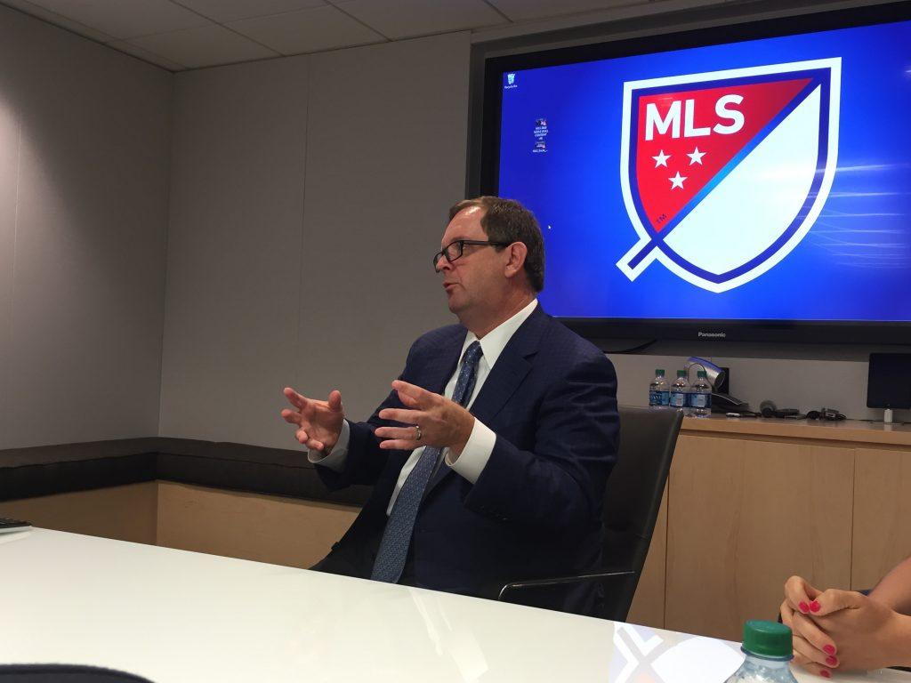 De vorbă cu Mark Abbott, prețedintele Major League Soccer. Tipul care a implementat strategia de dezvoltare a fotbalului în SUA.