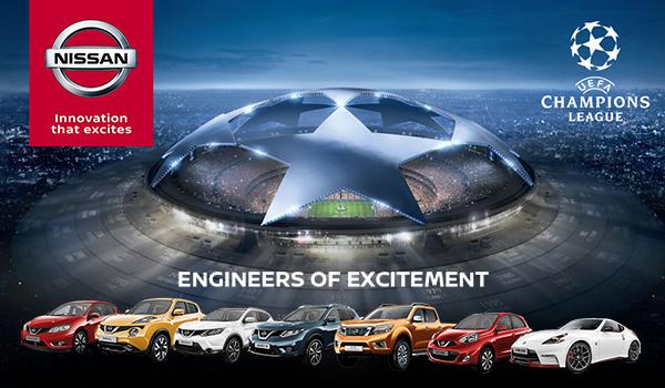 Nissan, sponsor principal al Champions League