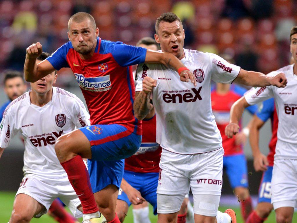 Gabriel Tamaș și Cristi Bud. Foto: Sportpictures.eu