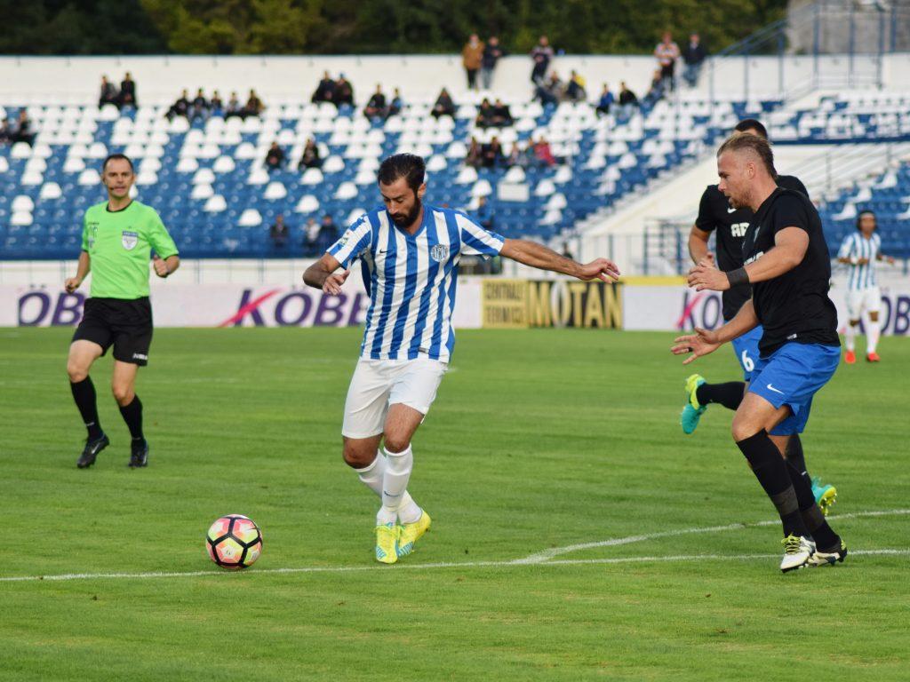 Gianmarco Piccioni in meciul CSMS Iasi - Pandurii Targu Jiu. Foto: Sportpictures.eu