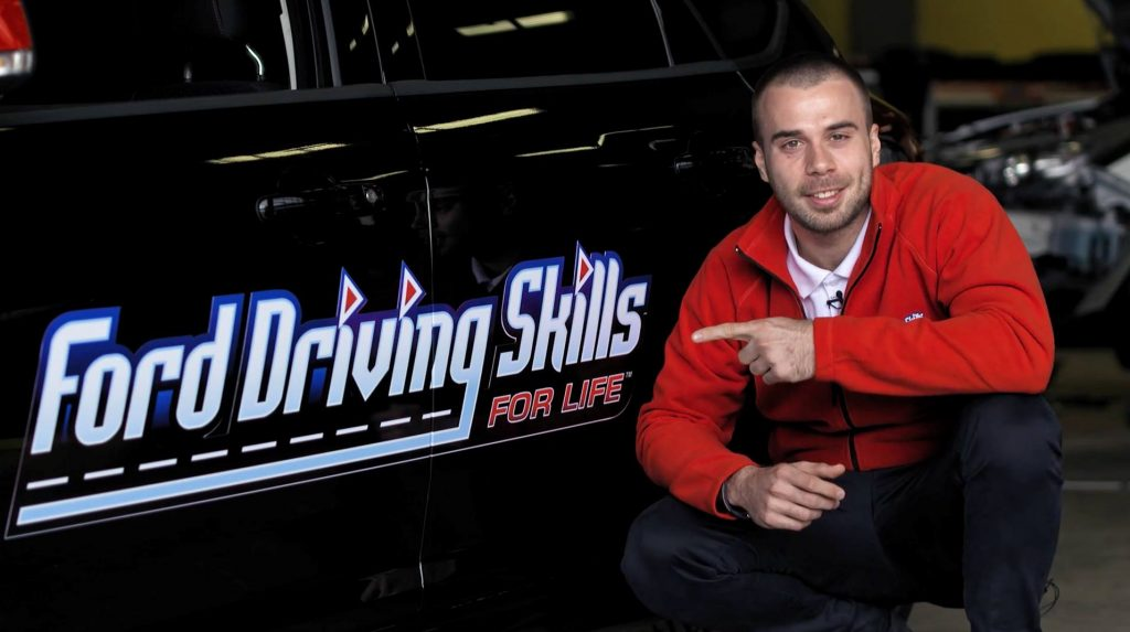 Simone Tempestini Ford Driving Skills for Life