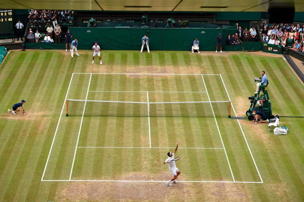 Roger Federer Marin Cilic Wimbledon 2017 final