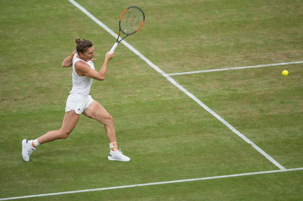 Simona Halep Wimbledon 2017