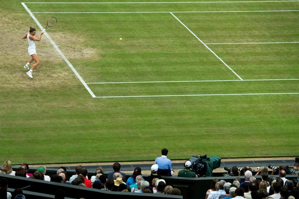 Halep Wimbledon 2017