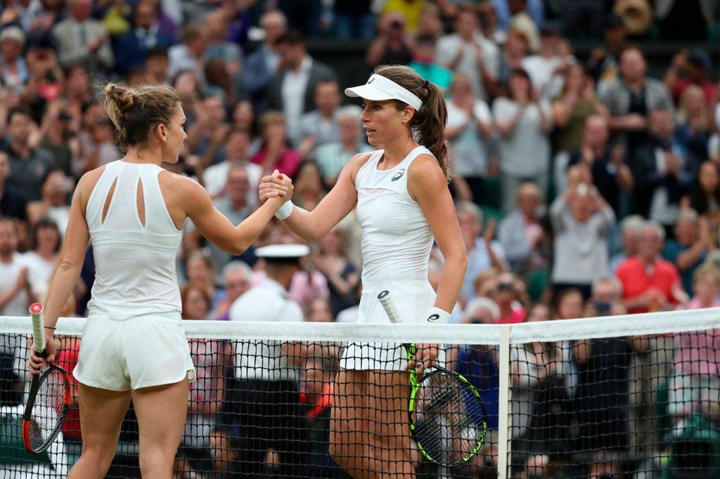 Halep Konta Wimbledon