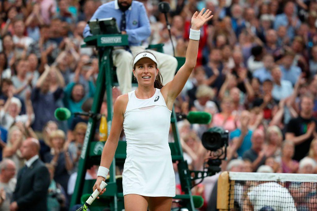 Johanna Konta Wimbledon 2017
