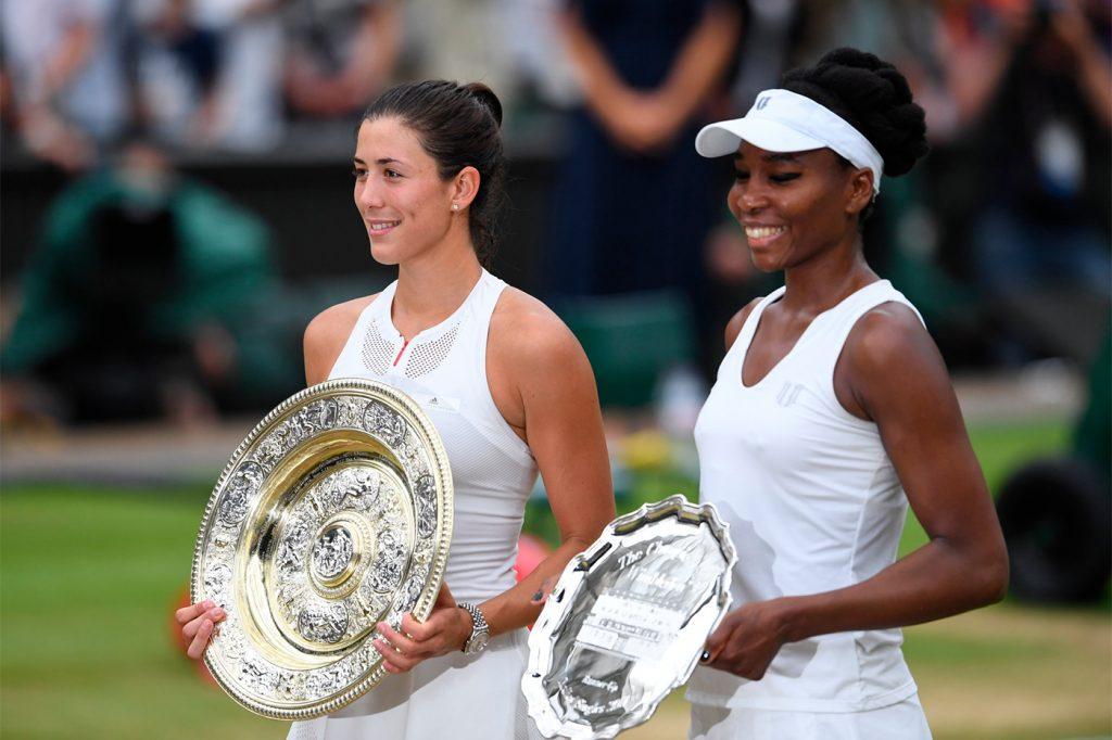 Garbine Muguruza Wimbledon 2017