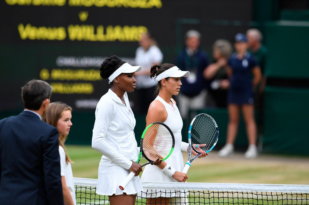 Venus Williams Garbine Muguruza Wimbledon 2017