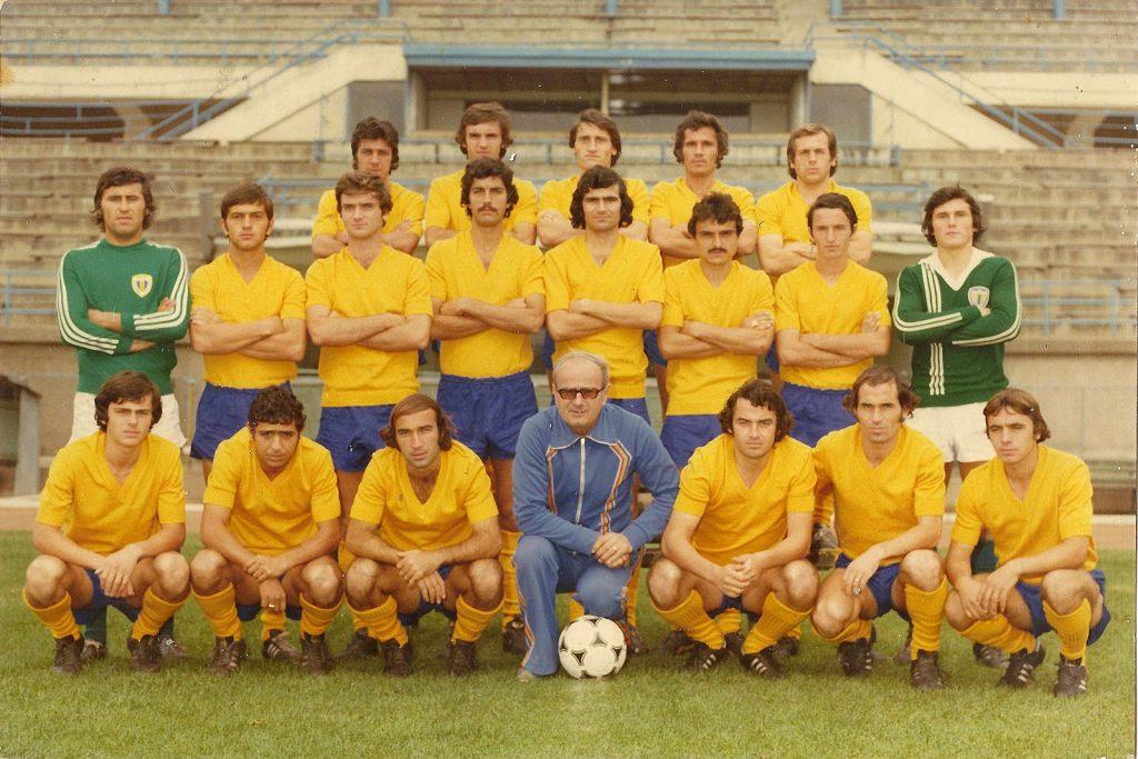 Petrolul Ploiești, echipa din sezonul 1980-1981. Sursa foto.