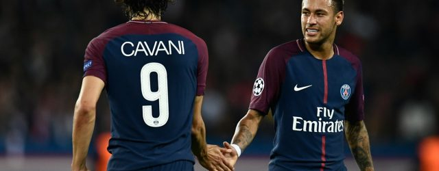 Cavani Neymar