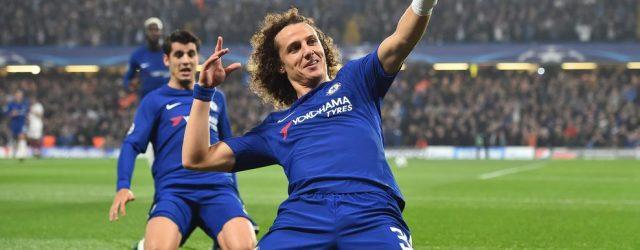 David Luiz Chelsea Roma