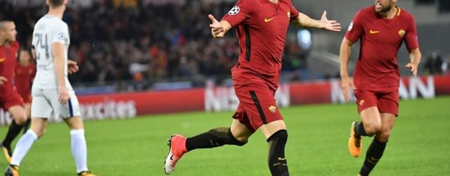 El Shaarawy Roma-Chelsea