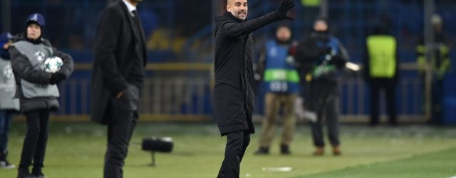 Pep Guardiola Sahtior City