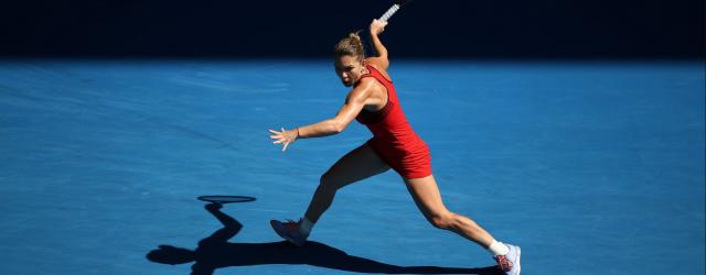 Simona Halep Karolina Pliskova Australian Open 2018
