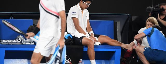 Australian Open 2018 Federer Chung