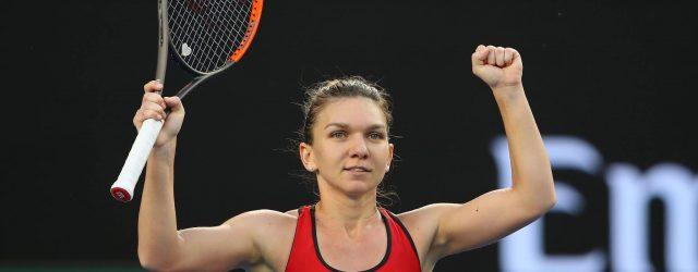 Simona Halep Australian Open 2018